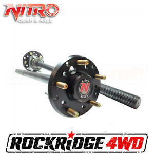 Jeep Wrangler Jk 07 18 Dana 44 35 Spline Chrome Moly Rear Axles By Nitro Gear