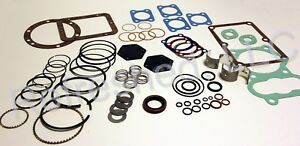 Quincy 5105 Tune Up Kit Gaskets Rings Valves Seals Air Compressor Parts Roc 4 up