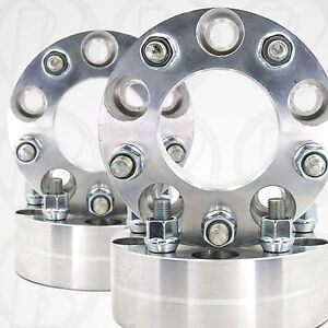 Four 5 Lug 4 5 To 5 X 4 5 Wheel Adapters 2 Spacers 12mm 1 5 Studs