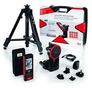 Leica Disto D810 Touch Laser Distance Meter D810 With Tripod And Adapter 806648
