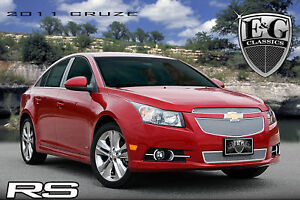 2011 2012 2013 2014 Chevrolet Chevy Cruze Rs 3pc Fine Mesh Grille Grill E