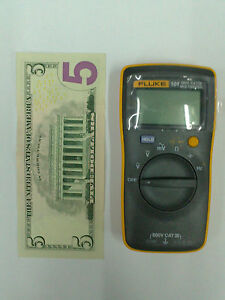 Fluke101 Handheld Palm sized Meter Digital Multimeter F101 english Logo