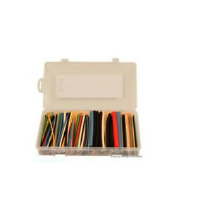 Nte Electronics hs asst 9 heat Shrink Tubing Assortment Kit 160pcs Multi color