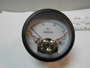 25 1920 4503 Meter Relay Dc Amperes 0 50 Fs 50mv New Old Stock