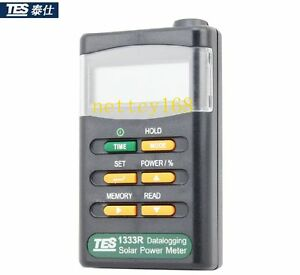 2050 tes 1333r Solar Power Meter Radiation Detector Solar Cell Energy Tester s