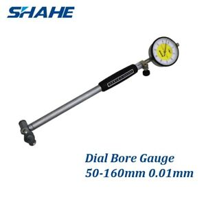 New Shahe 50 160mm Dial Bore Gauge Diameter Tool Engine Cylinder Indicator