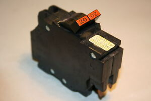 Federal Pacific 20 Amp 2 pole Breaker Type Nc Thin Save