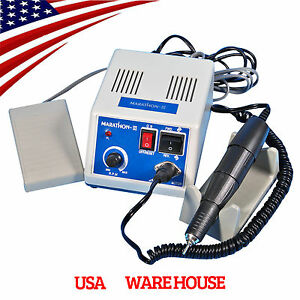 Dental Marathon Lab Electric Micromotor Polishing Motor 35 000 35k Rpm Handpiece