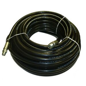 3 8 X 100 Sewer Cleaning Jetter Hose 4000 Psi