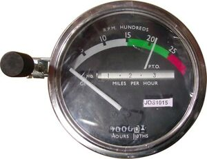 Re206855 Tachometer For John Deere 3010 4010 4020 4320 4520 4620 Tractors