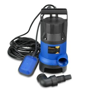 Submersible Water Pump 1 2 Hp 2000gph Clean Clear Dirty Pool Pond Flood Drain