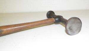 Vintage Fairmont Auto Body Flat Two Sided Hammer Tool 12 Long