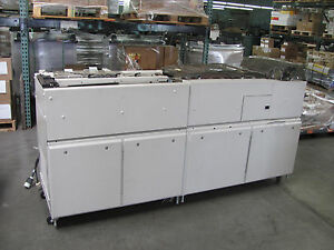 Pitny Bowes Y208 Duel Accumulator Folder With Rat 1ac For Flow Master