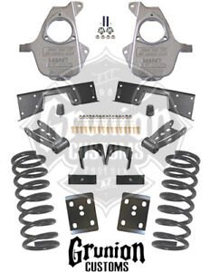 Chevy Silverado 5 7 Lowering Kit 2001 2007 Single Cab 17 Rims Mcgaughys 93029