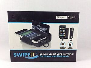 Macally Swipe it Credit Card Reader For The Iphone Or Ipod