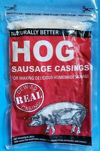 Natural Hog Pork Casings Gut For Homemade Sausage Venison Pork Beef Etc