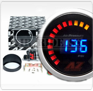 Digital Air Pressure Gauge Black Air Ride Suspension