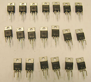 New 20 Pcs Teccor D4015l 400 V 15 Amp Ultra Fast Recovery Rectifiers Diodes