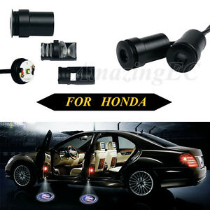 2 X Ghost Shadow Led Laser Cree Welcome Projector Light Decoration Car For Honda