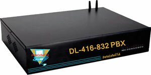 Small Hotel Motel Dl 416 Datalabs Pbx Pabx Auto Attendant Phone System W Pa Out