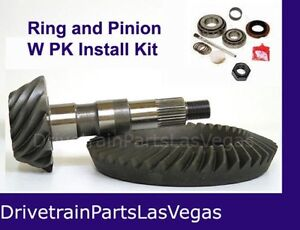 Ring And Pinion Gear Set 3 08 Gm Chevy 8 2 10 Bolt Car 1955 1964 Drop Out