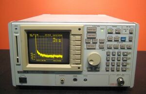 Advantest R3261a 9 Khz To 2 6 Ghz Spectrum Analyzer