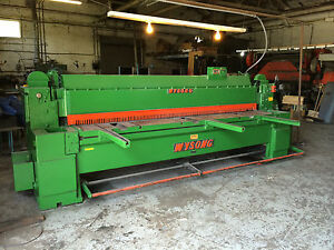 Wysong Mechanical Shear Model 1025 10 x1 4