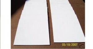 1 4 Thick White Marker Dry Erase Board 12 x12 24 Pcs