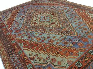 4 2 X 6 0 Antique 1920 S Persian Bijar Oriental Area Rug Hand Knotted Wool