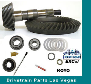 Richmond Excel Ring And Pinion Gear Set Gm 8 875 12 Bolt Truck 4 10 Install Kit