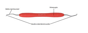 Dental Curette Gracey Standard Autoclavable Handle Gr 11 12 Euro S b1172 1