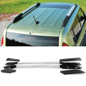 Oem Genuine Parts Silver Top Roof Rack Side Rail Bar 6p For Kia 2008 2013 Soul