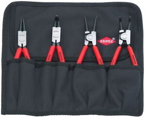 Nice Knipex 4pc Int Ext Snap Ring Retaining Ring Pliers Set 001956
