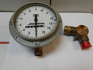 3327629 Tachometer Bronze 2 15 Rpm Hundreds New Old Stock