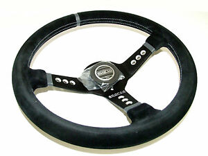 Sparco Steering Wheel L777 350mm 63mm Dish suede