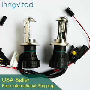 Innovited 35w Hid H4 3 9003 5000k Bi Xenon Hi Lo Beam Hid Replacement Bulbs