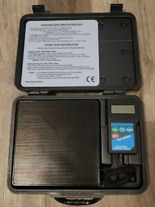 Fjc Electronic Refrigerant Scale With Case For Air Conditioning A C Repair 2850