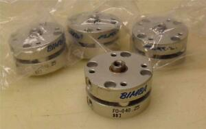 Lot Of 4 Bimba Pneumatic Cylinder Flat F0 040 25 3 4 Bore 1 4 Stroke