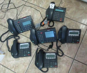 Lot Of 6 Nortel Networks Ntmn31bb70 Office Phones M3902 M3903 l786939