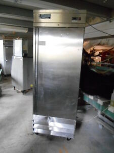 Used Avantco Single Solid Stainless Steel Door Refrigerator