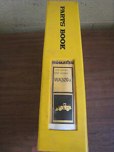 Komatsu Wa320 3 3le Wheel Loader Tractor Parts Book Manual Bepbw19070 Used
