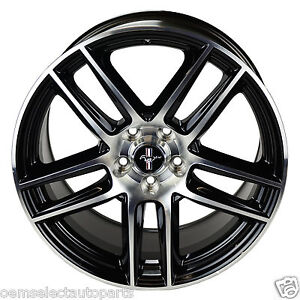 Oem New Ford Racing Boss 302s Blk Rear 19x10 Wheel Machined Face M1007dc1910lgb