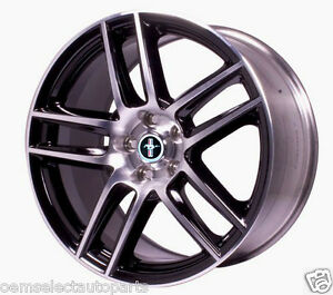 Oem New Ford Racing Boss 302s Blk Front 19x9 Wheel Machined Face M1007dc199lgb