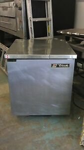 True Tuc 27 Undercounter Refrigerator W Sold Door Stainless Steel