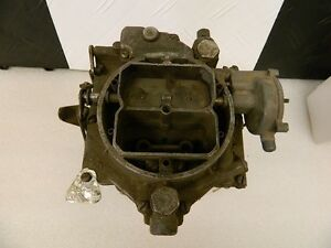 Wcfb Carter 1956 Cadillac El Dorado 365 V8 Carburetor Original Tag Intact Dated