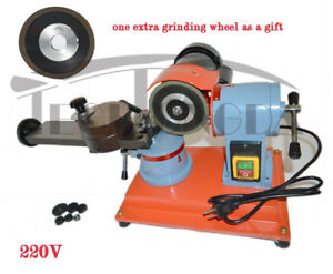 220v Round Carbide Saw Blade Grinder Mill Sharpener Grinding Machine Us Plug
