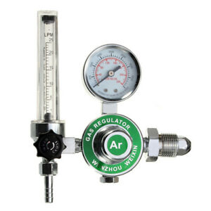 New Argon Gas Welding Welder Weld Regulator Pressure Gauge Flowmeter