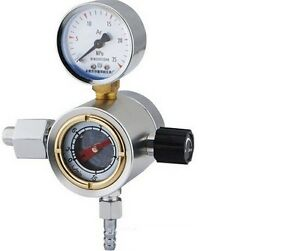 Free Shipping Argon Gas Flow Meter Reduced Pressure Gauge Regulator