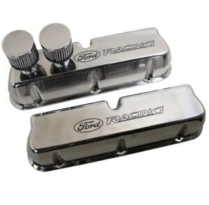 Oem New Ford Racing Circle Track Valve Covers M6582ct2 289 302 351w Welded
