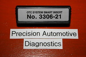 Otc 3306 21 Smart Insert Chrysler Oem Genisys Determinator Scanner Cable System